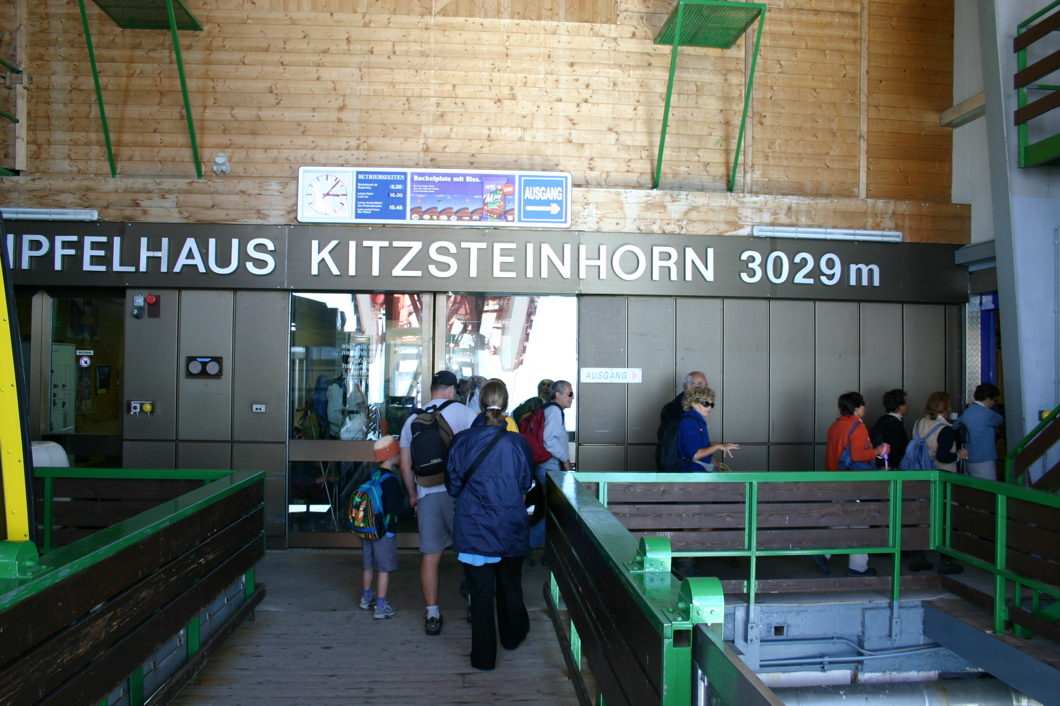 Gipfelbahn – Kitzsteinhorn – Kaprun