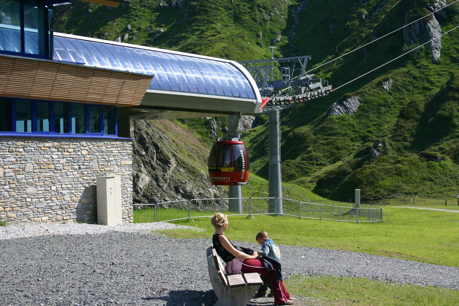 Talstation – Gletscherjet II – Kaprun – Kitzsteinhorn
