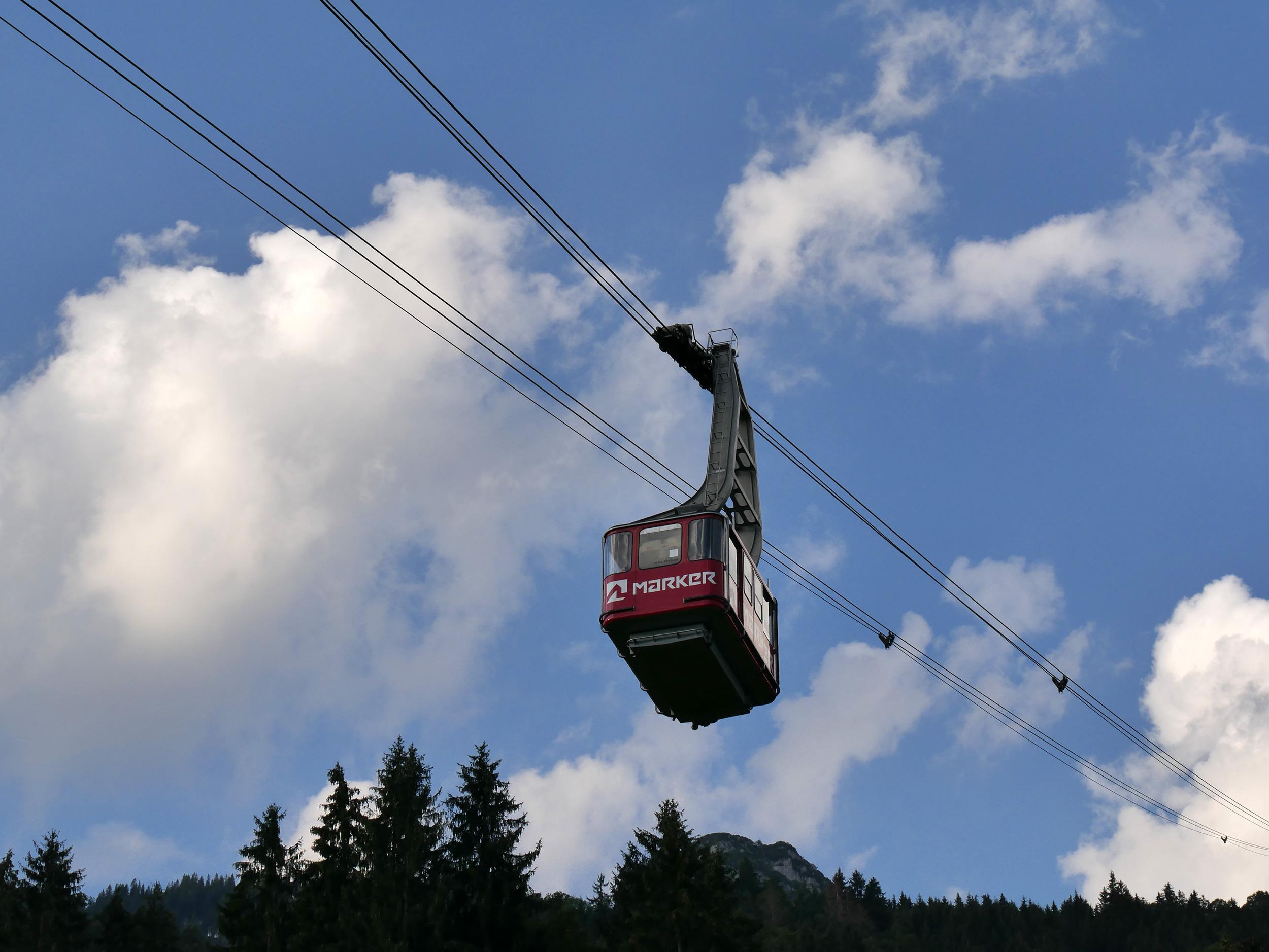 Alpspitzbahn in Garmisch – © Christian Schön