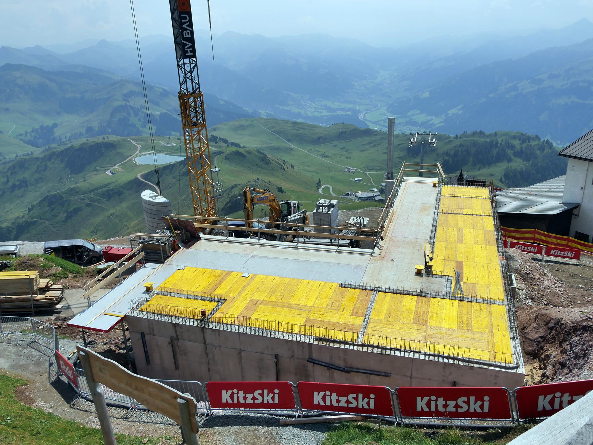 Baustelle 6SB Brunellen am Kitzbüheler Horn © Christian Schön