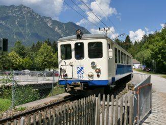 Zahnradbahn der Bayerischen Zugspitzbahn © Christian Schön