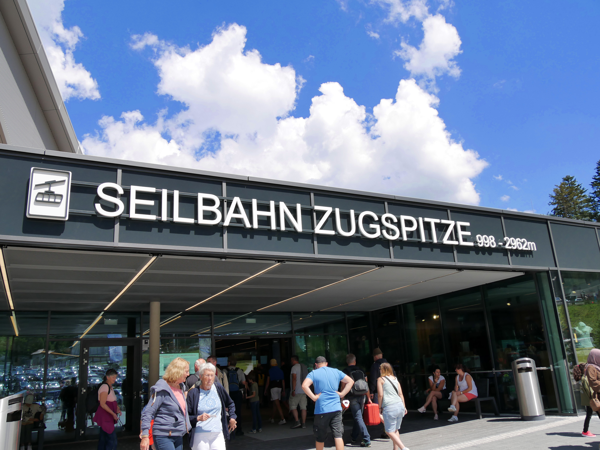 Eibsee-Seilbahn der Bayerischen Zugspitzbahn in Garmisch – © Christian Schön