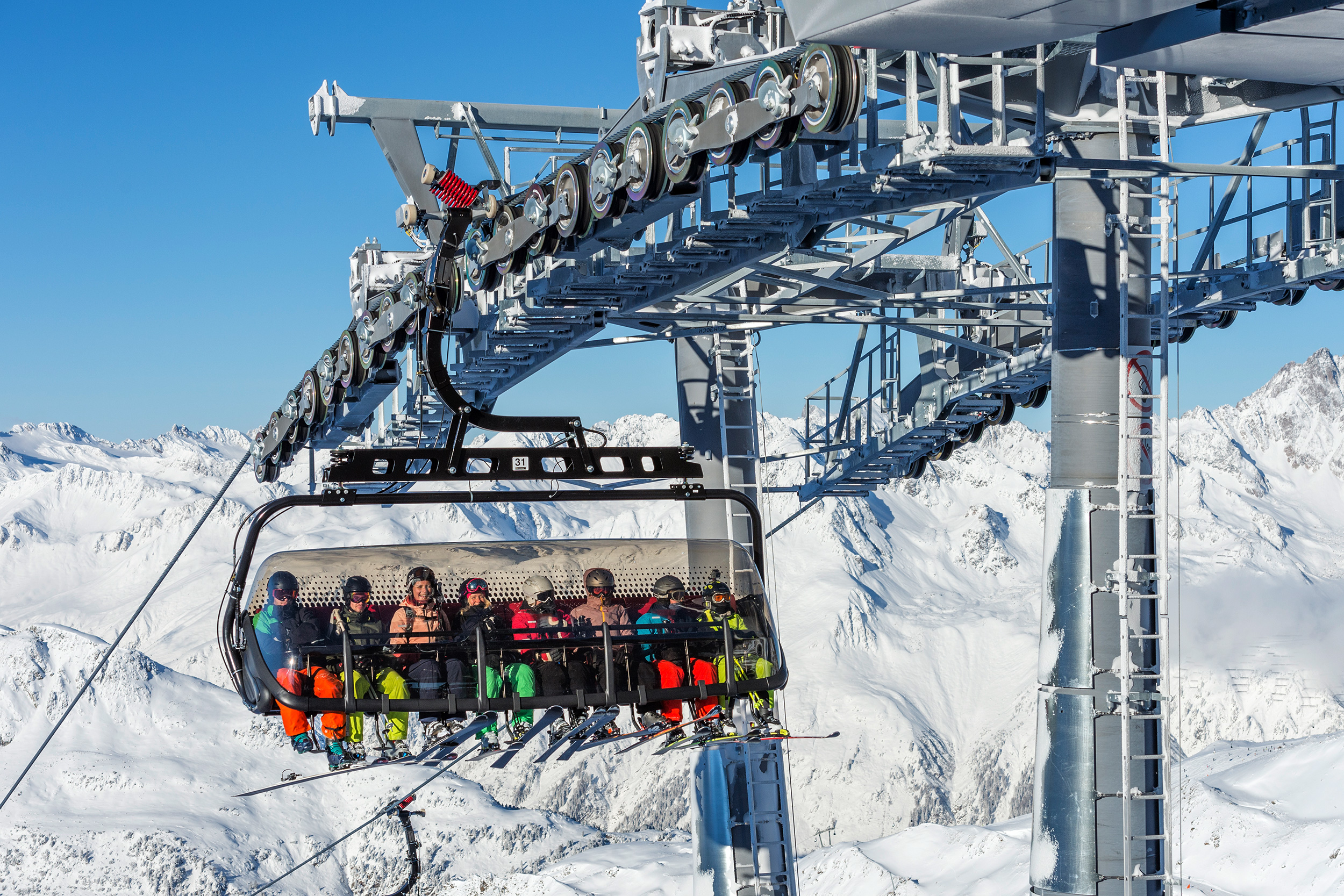 B2 Flimjochbahn in Ischgl – © TVB Paznaun-Ischgl