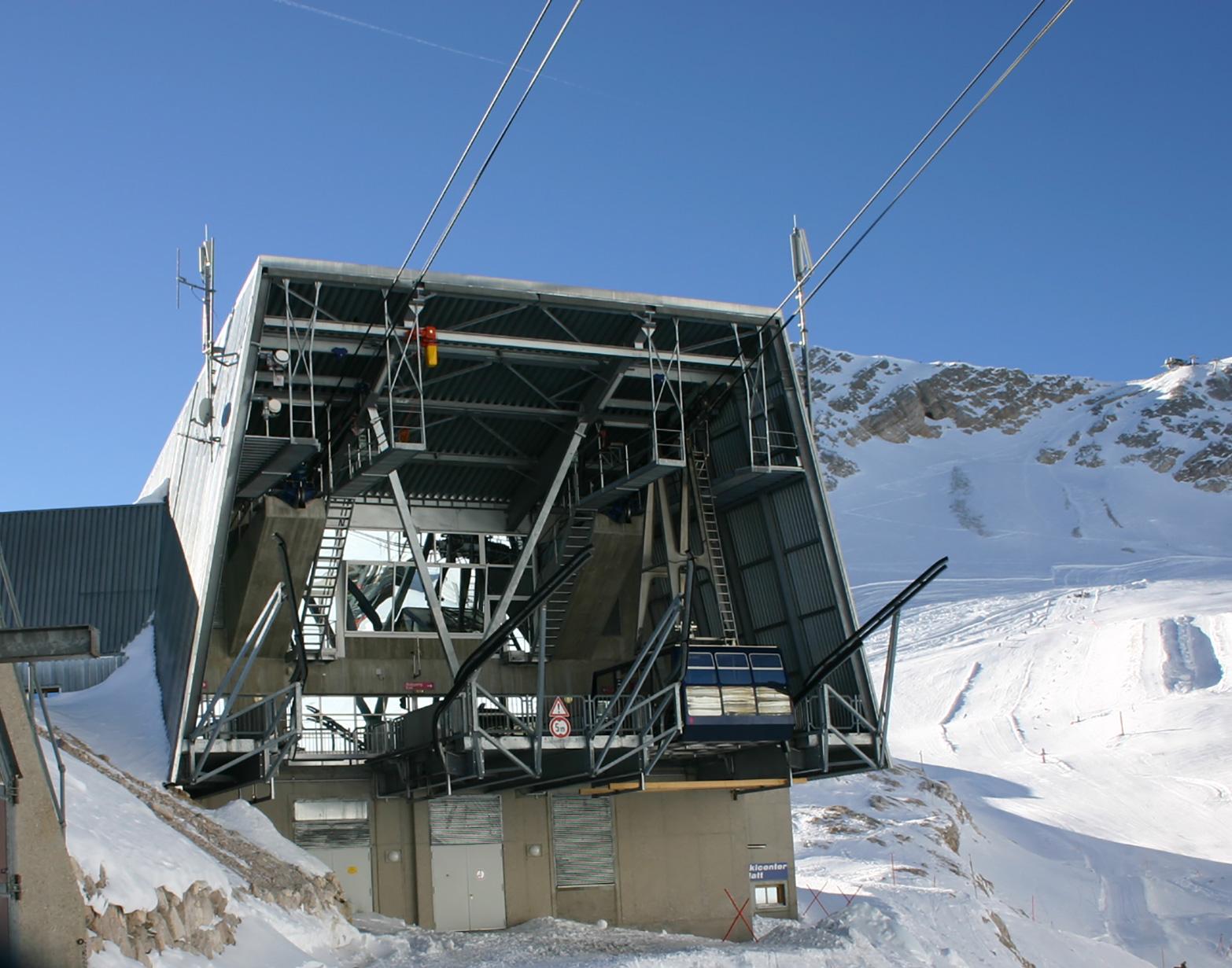 Gipfelbahn Zugspitze – © Christian Schön