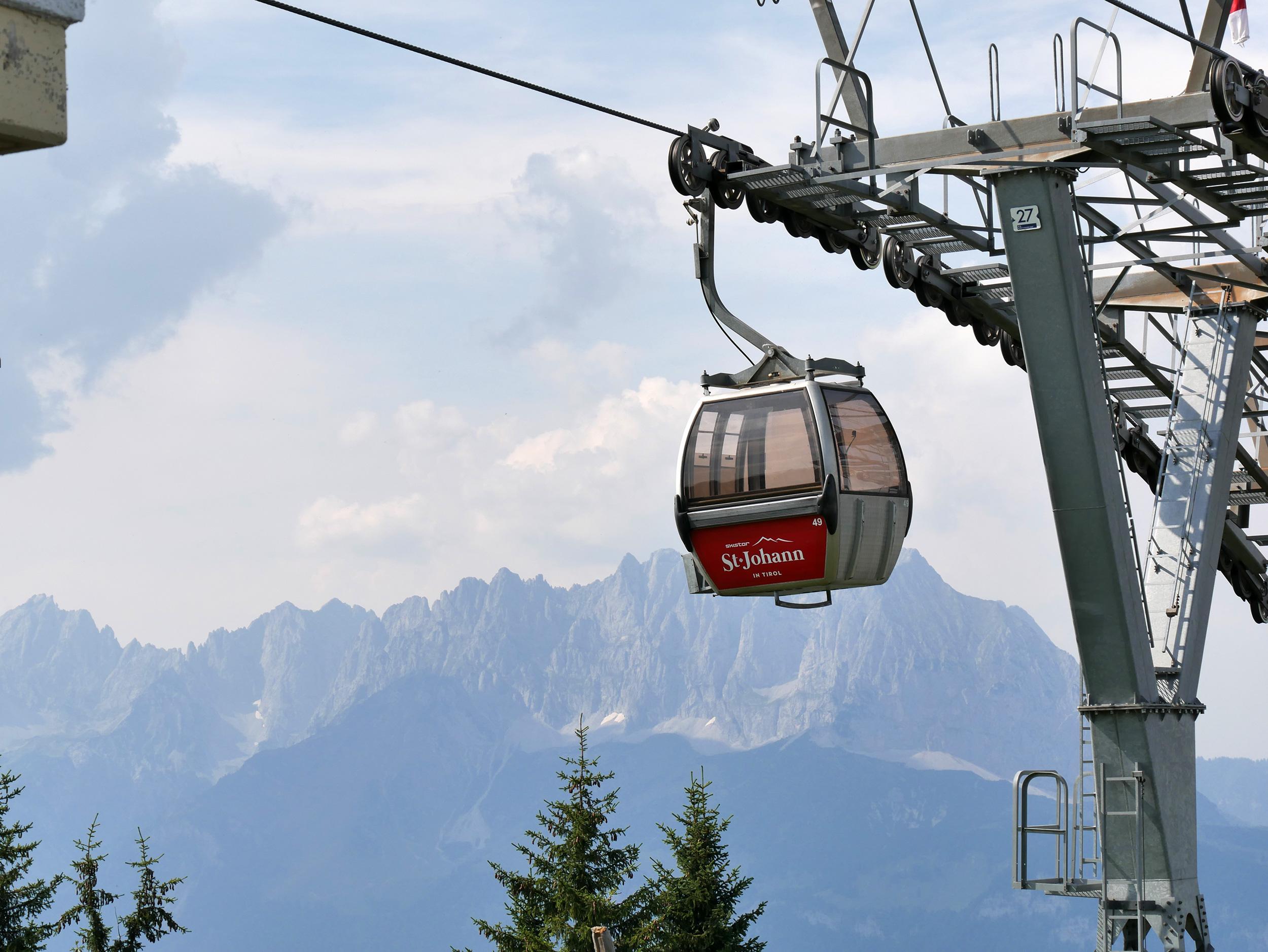Gondelbahn Harschibichl in St. Johann in Tirol – © Christian Schön