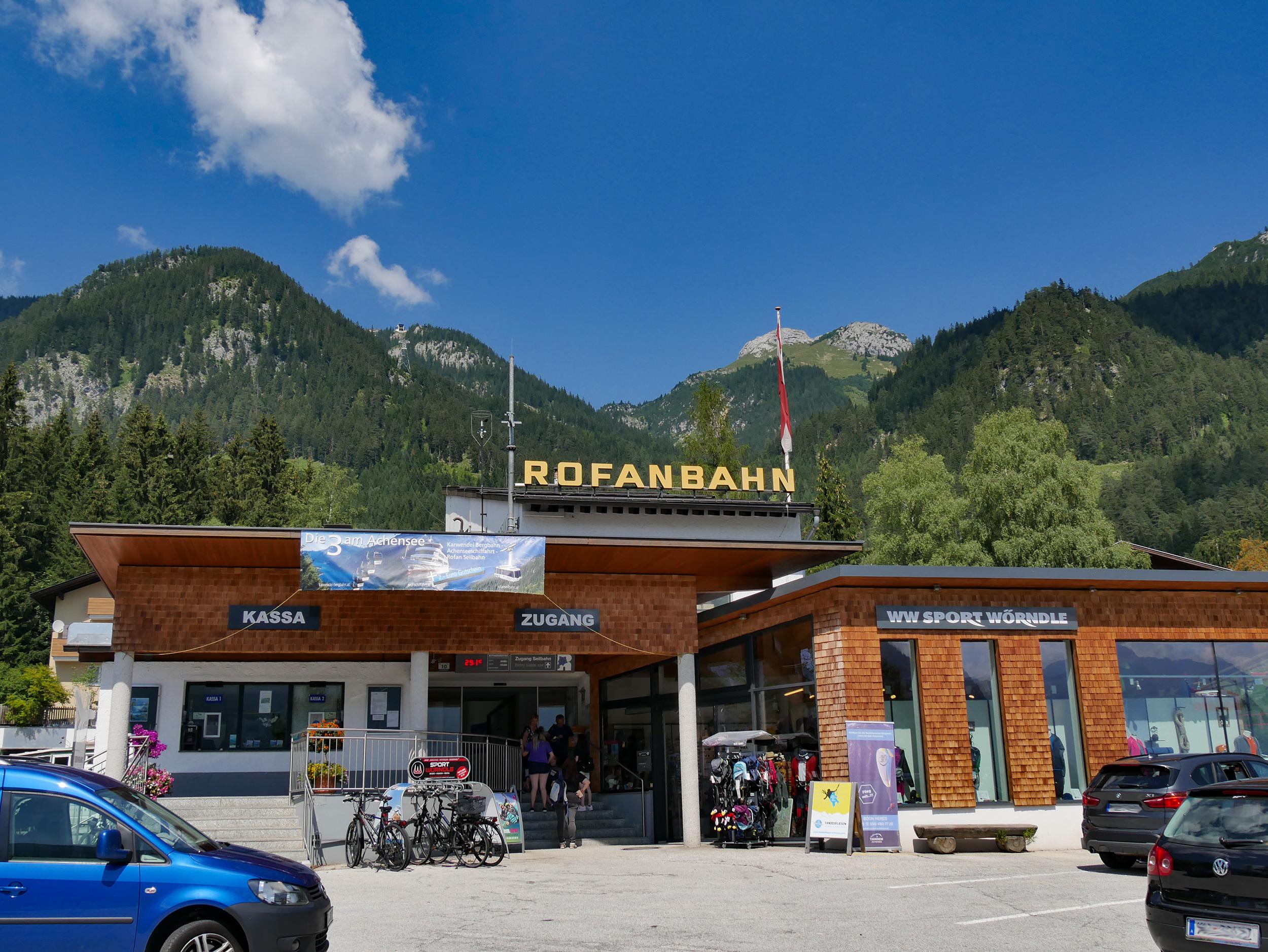 Rofan Seilbahn in Maurach am Achensee – © Christian Schön