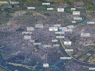 Rheinpendel Express - Seilbahnprojekt in Köln (Bild: Fabian Weber)