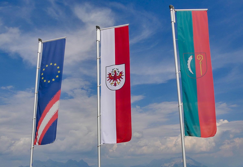 Flagge Österreich – EU – Tirol