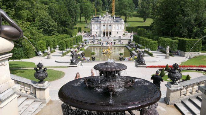 Viele Arbeiten An Schloss Linderhof Fast Fertig