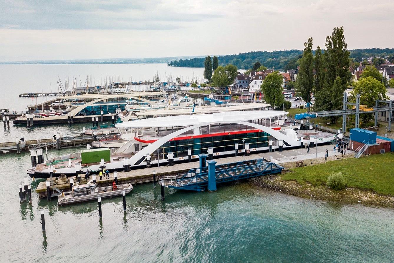 Faehrschiff 14 – so der Deckname für die zukünftige Autofähre der Stadtwerke Konstanz