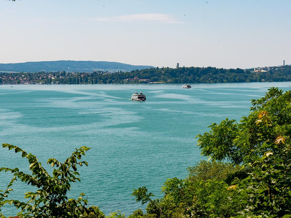 Neue gasbetriebene Autofähre bald auf der Strecke Konstanz – Meersburg am Bodensee.