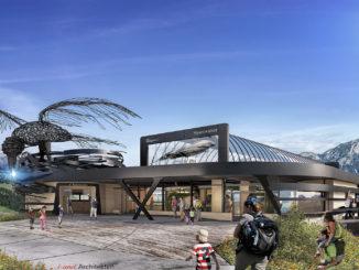 Bergstation Rabennest der neuen Gondelbahn Hexenwasser in Söll // Bild: Bergbahnen Söll Hexenwasser