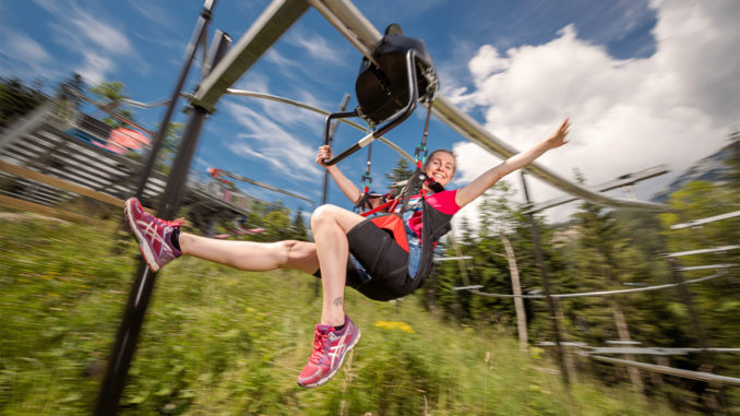 Flying Coaster in Gröbming am Dachstein - Bild: © www.flyingcoaster.at / Christoph Huber