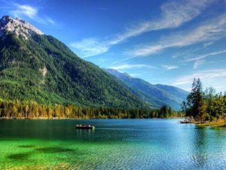 Der Hintersee bei Ramsau im Berchtesgadener Land. // Foto: kordi_vahle auf pixabay.com