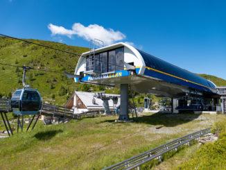 Viele Attraktionen, wie hier die Panoramabahn Turracher Höhe, bieten die Kärnten Card kostenlos. Bild: Christian Schön / alpintreff.de