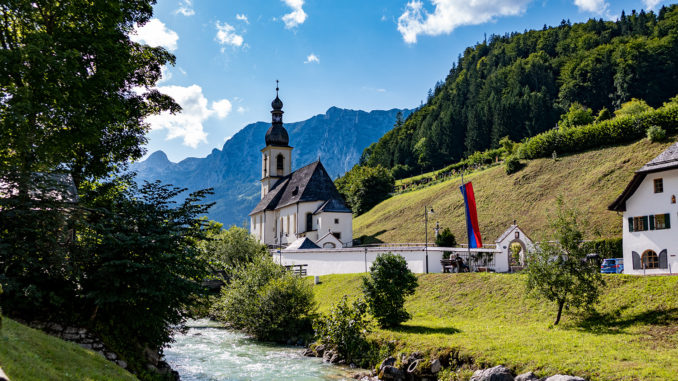 Erholung im Corona-Jahr ist möglich // Foto: Ramsau bei Berchtesgaden, alpintreff.de - Christian Schön