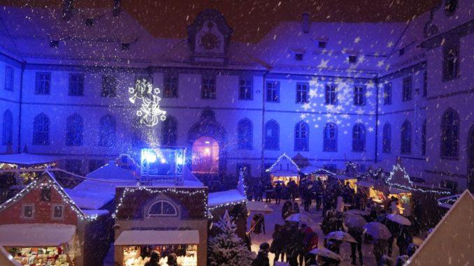 Der Füssener Adventsmarkt ist ein besondere Zeit im Jahr. // Foto: Füssen Tourismus und Marketing, David Terrey