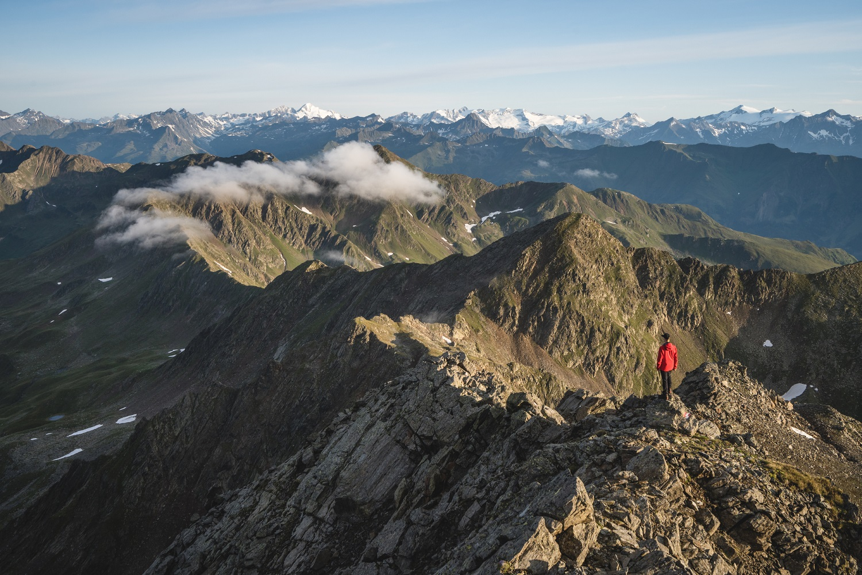 Sonnenaufgang Villgrater Berge