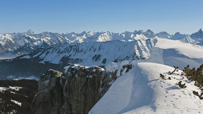 Das Toreck bietet eine traumhafte Aussicht. // Foto: Ulf Streubel und Matthias Schopp