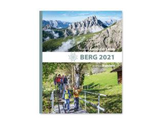 Cover des Alpenvereins-Jahrbuches 2021: BERG 2021 // Foto: DAV