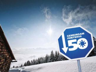 Gemeinsam unter 50 - ein schönes Motto für die Aktion aus dem Allgäu. // Bild: allgaeu.de